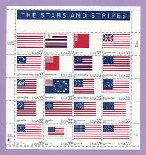 3403  US ...The stars & Strips.. .Never Hinged Sheet issued year 2000