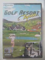 69712 - Golf Resort Tycoon [NEW / SEALED] - PC (2001) Windows 98
