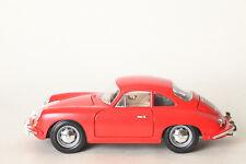 Burago Porsche 356 B (1961) Red 1:18 Made in Italy (128635)