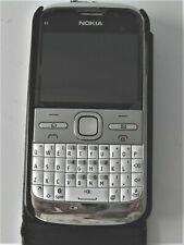 Nokia E5 Blanco/Plateado Desbloqueado Teléfono Móvil