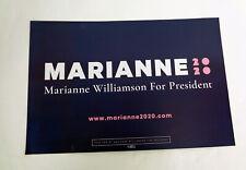 """/""""Repair.Restore.Renew/"""" Campaign Button 2020 Marianne Williamson 2.25/"""" Pin 02"""