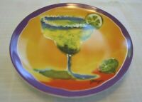 "Set of 4 Appetizer Plates ""Margarita"""