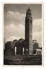 Antwerpen - Anvers Real Photo Postcard 1930 / Antwerp