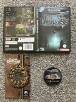ETERNAL DARKNESS NINTENDO GAMECUBE GAME WITH MANUAL OFFICIAL UK PAL