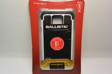 New OEM Ballistic Tough Jacket Black/White Case For Samsung Galaxy S5