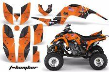 ATV Decal Graphic Kit Quad Sticker Wrap For Yamaha Raptor 660 2001-2005 TBOMB O