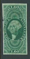 Bigjake: R79a, $1.60 Foreign Exchange imperforate, 1st Issue Revenue