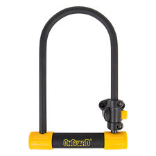 "OnGuard Bulldog 8011 ATB U-lock MTB Bike Hardened Double Locking Wider 9"" x 5"""