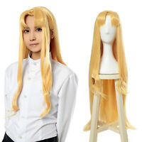 The Rising of the Shield Hero Filo Cosplay Wig Blonde Long Straight Hair 90cm