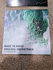 Made In Abyss Soundtrack COLORED Vinyl OST 2LP Kevin Penkin Blue / Grey Anime