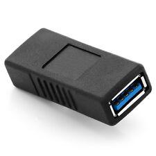 deleyCON USB 3.0 Adapter Kupplung - A-Buchse zu A-Buchse - 2 USB Kabel verbinden
