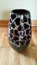 Alte Vase Karlsruher Majolika ca.18cm