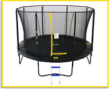 14ft Big Air Extreme Round Trampoline + Safety Enclosure