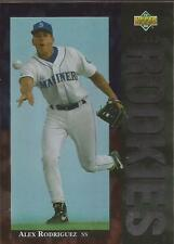 ALEX RODRIGUEZ 1994 Upper Deck Star Rookies Seattle Mariners New York Yankees