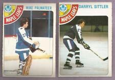 1978-79 OPC O-PEE-CHEE Toronto Maple Leafs Team Set