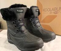 KOOLABURRA BY UGG, NEDA 1018845 WOMAN'S SNOW BOOTS WINTER SIZE 11, BLACK NEW