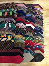Mixed Mens Tie Lot Silk & Polyester 82 Count