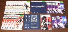 Lot of 34 X-BOX 360 Manuals No Games