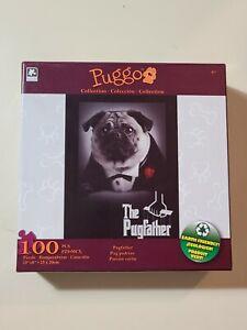 100 piece Puzzle, Puggo The Pugfather (Brand New & Sealed