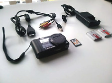 Sony Cyber-Shot DSC-H55 14.1MP Digital Camera Black + 8GB SD Card+ Extra Battery