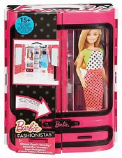 Barbie Doll Closet Girls Toy Play Fashion Clothing Ken 15 Piece Set Wardrobe New