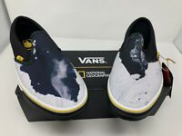NEW Vans National Geographic Glacier Classic Slip On Men's Size 9 Women's 10.5