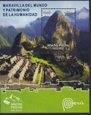Peru Leaf Block 62 2011 Wonder World and Heritage of the Humanity Machu