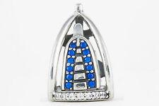 Sterling Silver S925 Charm Dubai Burj Al Arab  European Bead Travel Jewellery