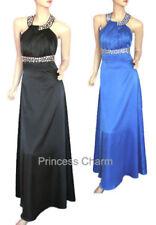 Halter Polyester Formal Dresses for Women