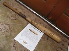 Bobby Wine Game Used Autographed Hillerich& Bradsby Baseball Bat PSA Certified