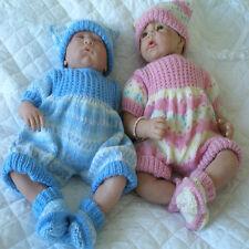"Creative Dolls Designs Knitting Pattern Romper Suit for 17-19"" Dolls"