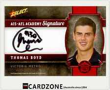 2013 Select AFL Future Force Black Signature Cards FFRS30 Thomas Boyd (GWS)