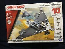 Meccano Flight Adventure 10 Models *NEW* d1