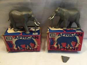 Britains African Elephant 1310 X 2 Boxed