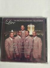 Walter Ellis & The Country Boys - Live in Montgomery Alabama - New Factory CD