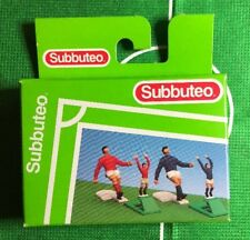 Subbuteo 61133 - x2 Corner Kickers & x2 Throw In Figures - Boxed