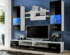 Living Room High Gloss  Furniture Display Wall Unit Modern TVUnit Cabinet RIO
