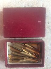 Collectable Box of 50+ Dip Pen Nibs in original box Philip & Tacey Ltd London