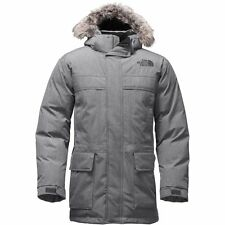 THE North Face Uomo McMurdo Parka II 550 Piumino TNF Med Grigio Heather M L