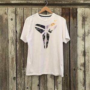 Nike Kobe Bryant Black Mamba Logo Men's Unisex T-Shirt Dri-Fit Size L