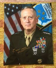 "James ""Jim"" Mattis Signed Autograph 8x10 Photograph RARE USA **** General Trump"