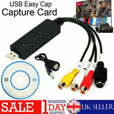 More details for usb 2.0 vhs tape to pc dvd converter video & audio capture card/adapter