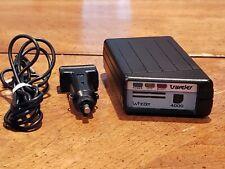 Vintage Whistler Traveler 4000 Radar Detector with Car Charger