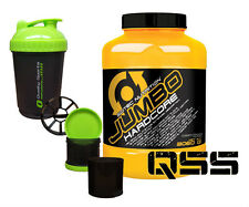 Scitec Nutrition Jumbo Hardcore Mass 3060g Weight Gainer Creatin Amino Matrix White Chocolate Shaker 700 Ml
