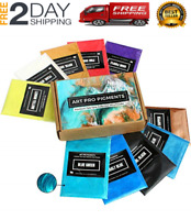 Epoxy Resin Color Pigment MEYSPRING Two Tone Collection Mica Powder Set 100g