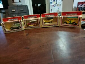 Diecast cars Days Gone By Lledo c1983 used