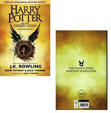 HARRY POTTER and the CURSED CHILD Parts I & II (2017): Script BOOK 1+2 Paperback