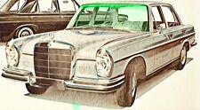 Mercedes S-Klasse W108 W109  BJ 1966-73 Windschutzscheibe *NEU* grün + Grünkeil