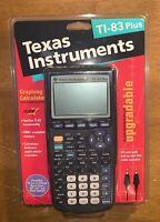 Vintage Rare Texas Instruments TI-83 Plus New Sealed Complete Package