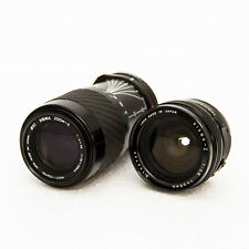 2 x Sigma Zoom Lens - 70-210mm f/4-5.6 (52mm) and Sigma-Z 1:28mm
